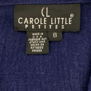 Carole Little Tops - Carole Little Flax mix Blue top NWT size 8